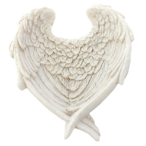 Angel Wing Crystal Dish