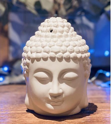 Buddha head oil burner