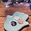 Thumbnail: Hamsa hand turquoise ceramic dish