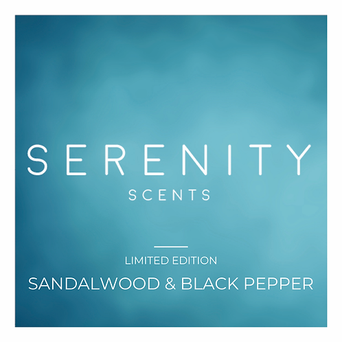 LIMITED EDITION Sandalwood & Black Pepper - Diffuser