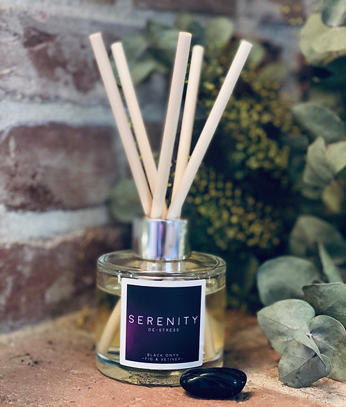 DE-STRESS - DIFFUSER - black fig & Vetiver