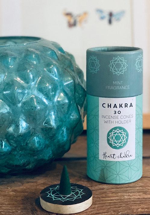 CHAKRA INCENSE CONES - mint