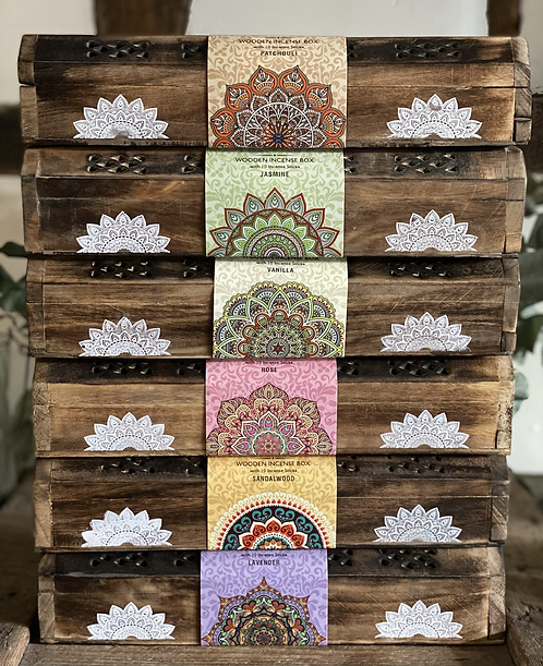 Mandala Incense box