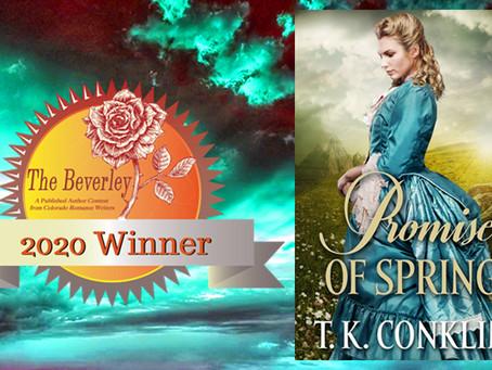 Beverly Award Winner!