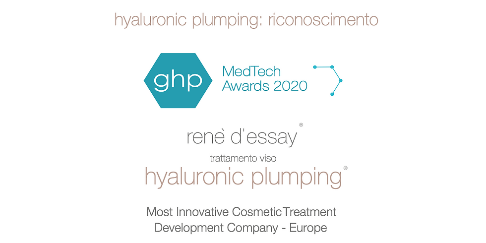 Hyaluron Plumping Days mit Rene D' Essay dermo cosmetic