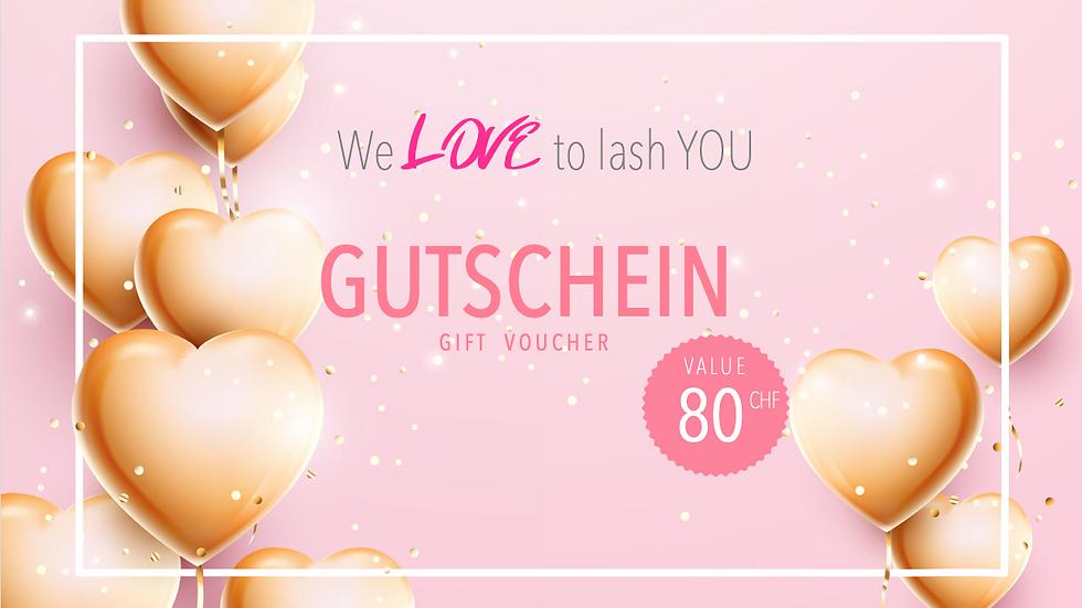 GUTSCHEIN 80