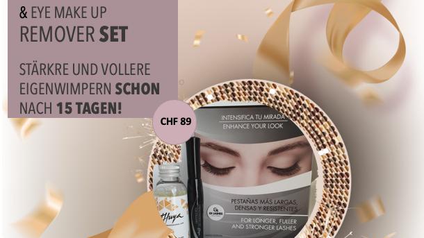 LASH & BROW SERUM 8ml & Remover Eye Make-Up