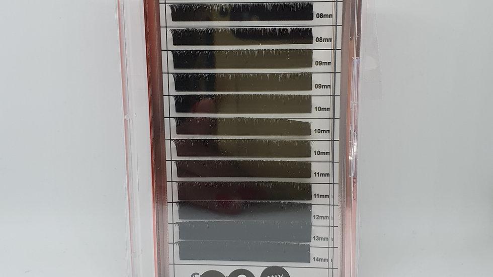 Faux Mink SPEED Volume Lashes C 0.07 Mix Längen 8-14 mm