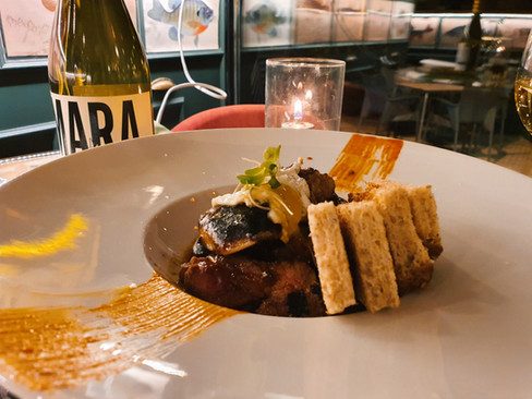 Picaña Tataki con Foie | Restaurante fus