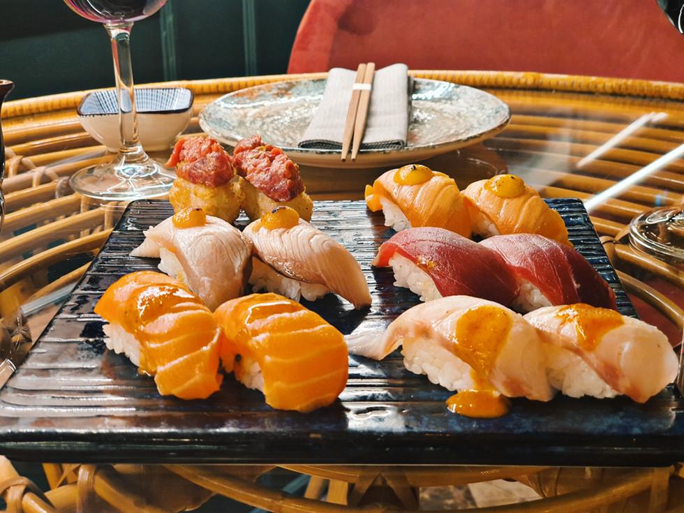 Nigiri Selection Sushi | Restaurante fus