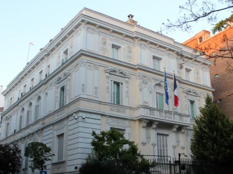 Residencia del Embajador de Francia · Madrid