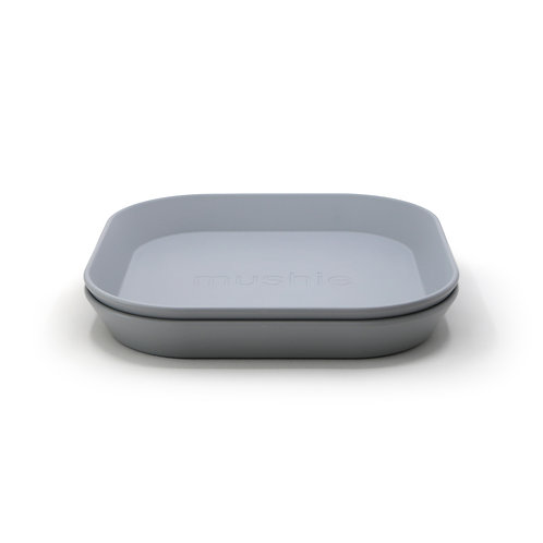 Mushie Cloud -Pack of 2 plates