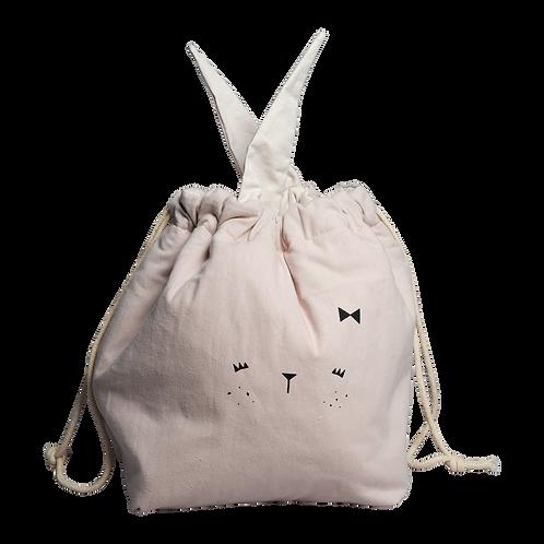 Fabelab Storage Bag - Small - Bunny - mauve