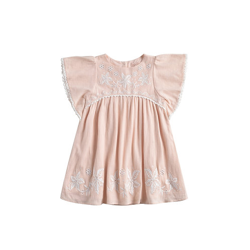 Louise Misha Dress Esca Blush