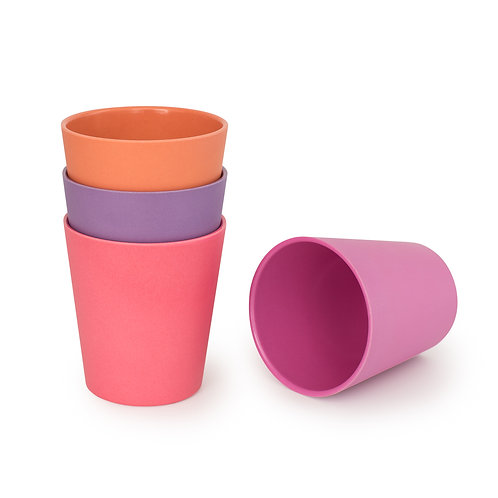 BoBo & Boo Sunset -Pack of 4 cups