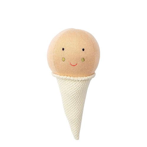 Meri Meri Pink Ice Cream Rattle