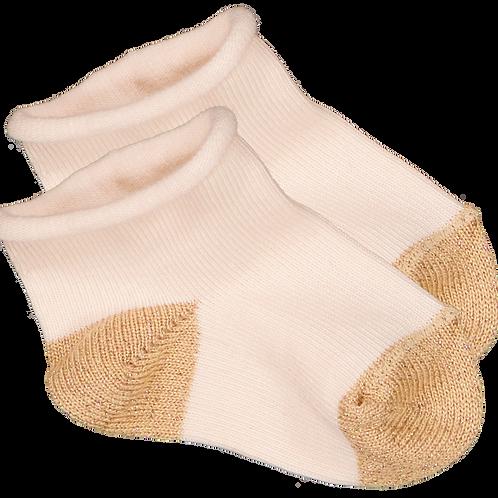 Louis Lousie Paris Cotton Light pink/Gold Sock