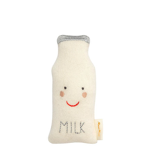 Meri Meri Milk Bottle Baby Rattle