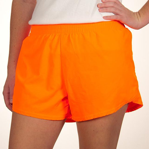 Steph Shorts Neon Orange