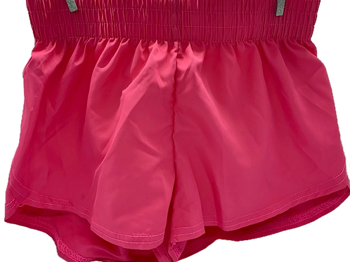 Steph Shorts Hot Pink