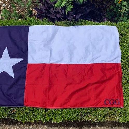 Texas Flag Flown over the Texas Capital