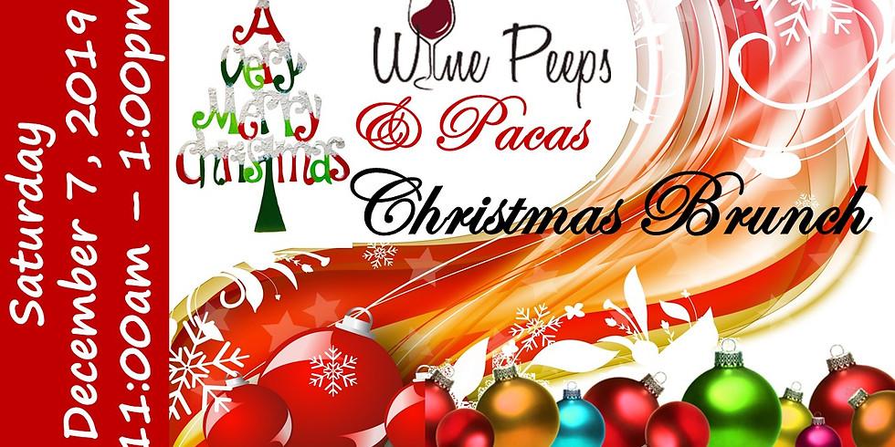 Wine Peeps & Pacas: Christmas Brunch