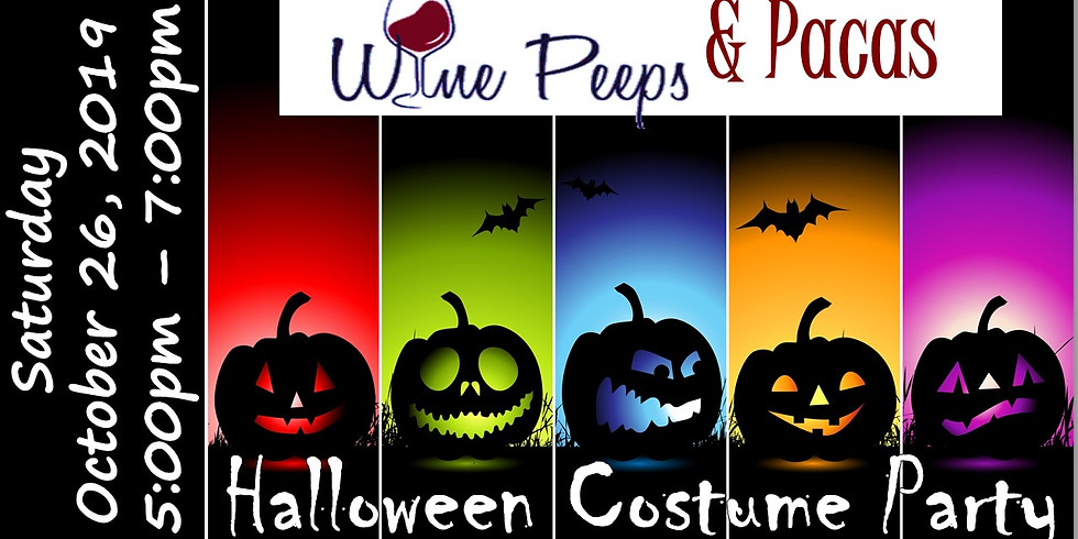 Wine Peeps & Pacas: Halloween Costume Party