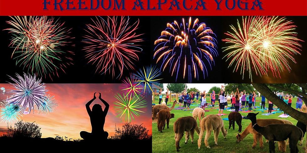Freedom Alpaca Yoga