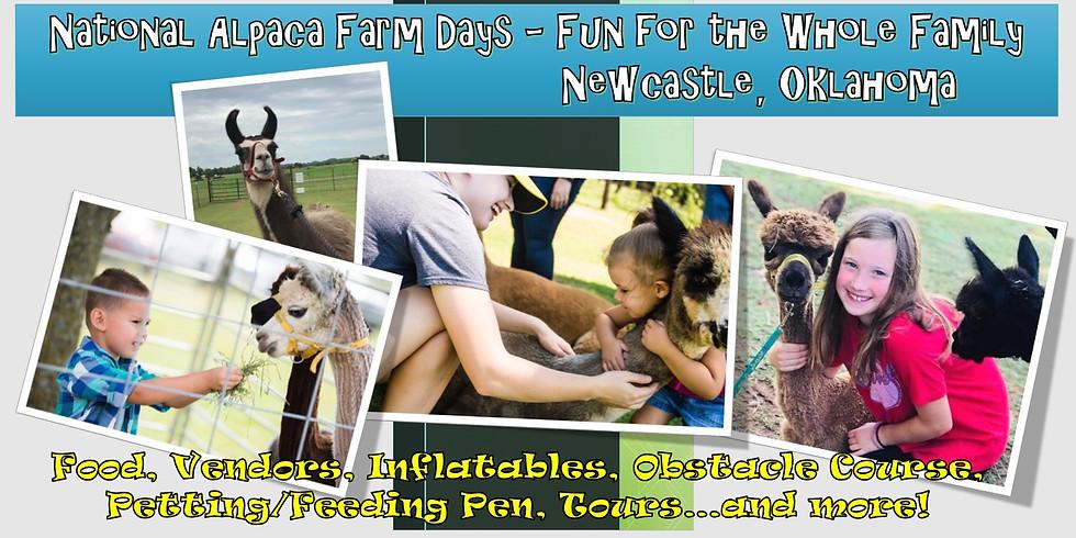 National Alpaca Farm Day - VENDOR FEES & REGISTRATION ONLY (2)