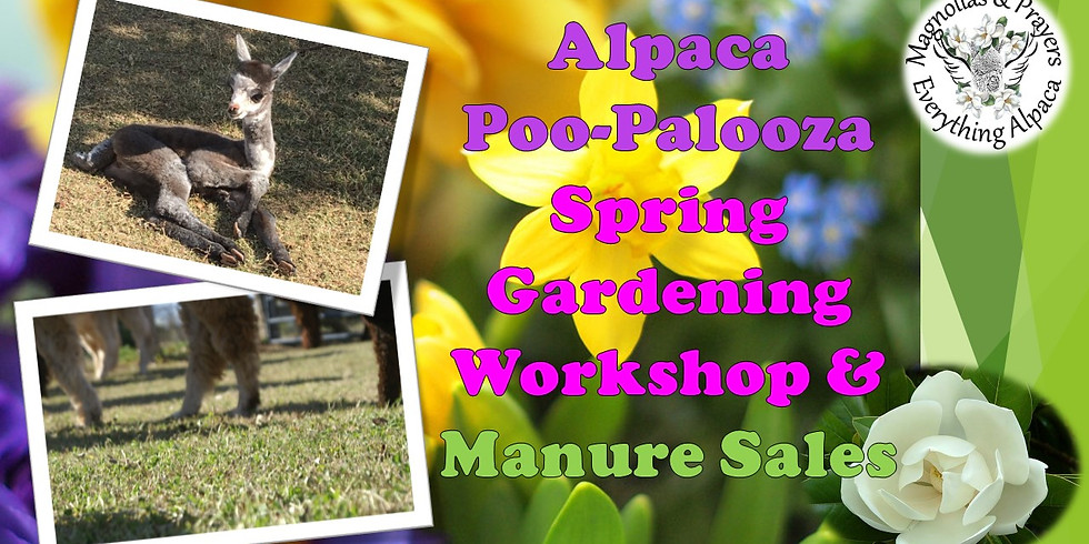 PooPalooza Workshop:  Spring is Busting Out All Over-Discover Early Bloomers