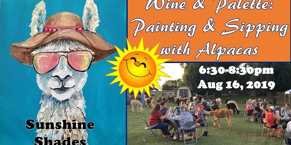 Wine/Palette: Paint w/Pacas-Sunshine Shades