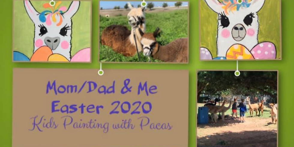 CANCELLED - Kids Easter Painting with Pacas
