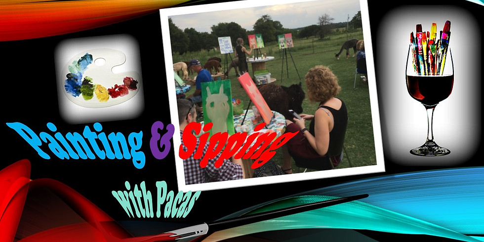 Wine & Palette:  Painting & Sipping with Pacas