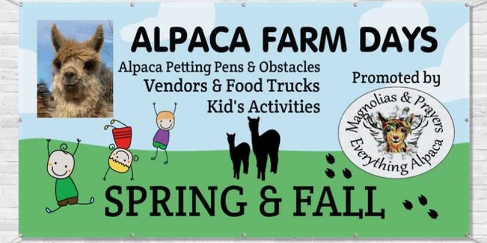 Spring Alpaca Farm Day