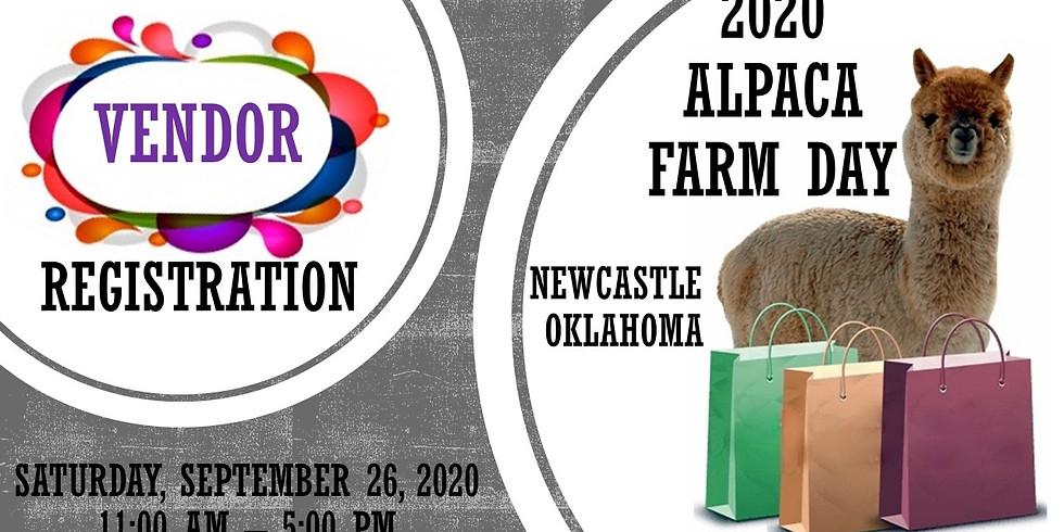 2021 Spring Alpaca Farm Day-VENDOR FEES & REGISTRATION ONLY