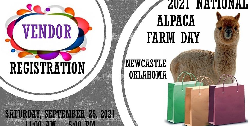 2021 National Alpaca Farm Day-VENDOR FEES & REGISTRATION ONLY