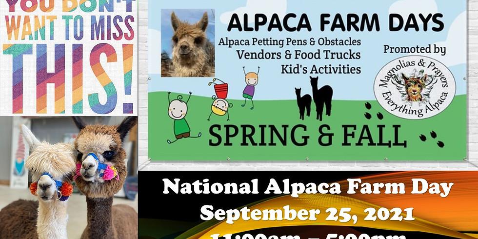 National Alpaca Farm Day