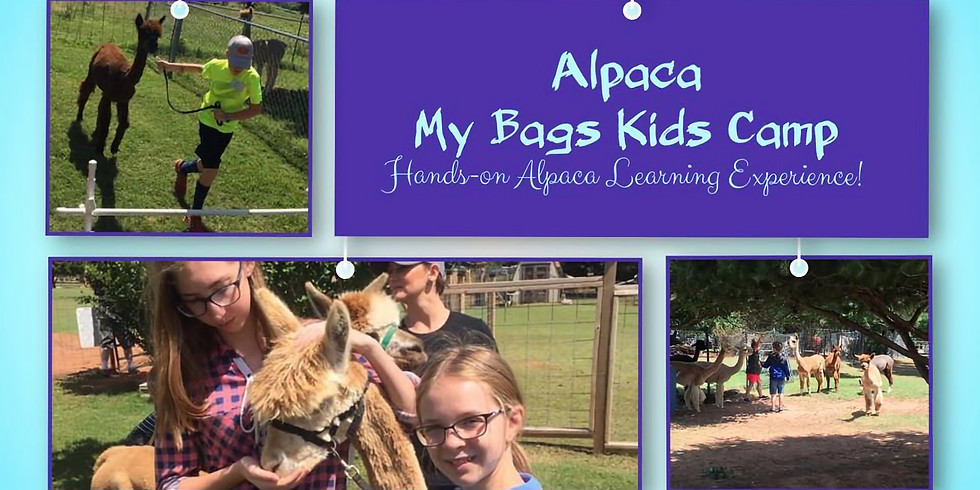 Alpaca My Bags Kids Camp 2020 - REGISTRATION IS NOW CLOSED