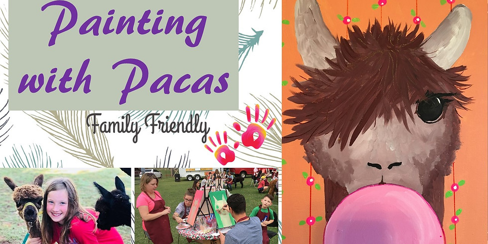 Painting with Pacas:  Spring Bubble