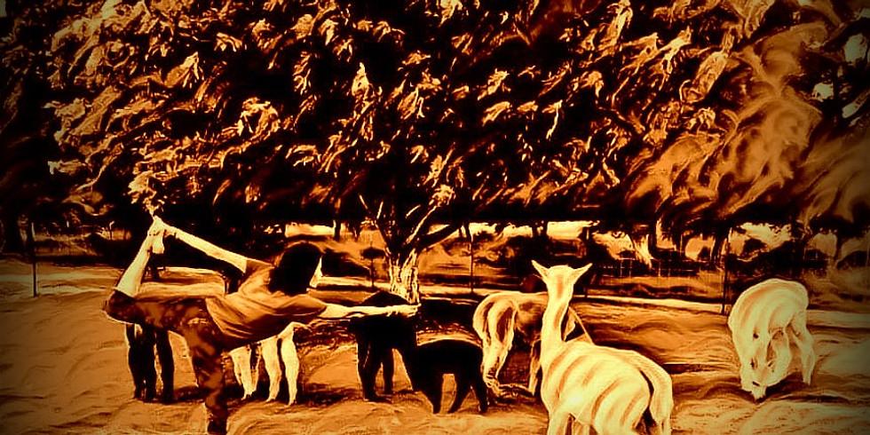 Alpaca Yoga: Autumn Leaves