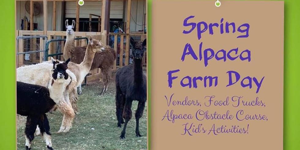 SPRING 2020 ALPACA FARM DAY-GATE ENTRY