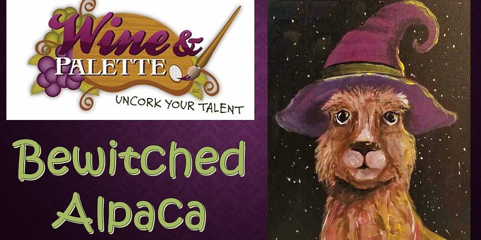 Wine & Palette: Bewitched Alpaca