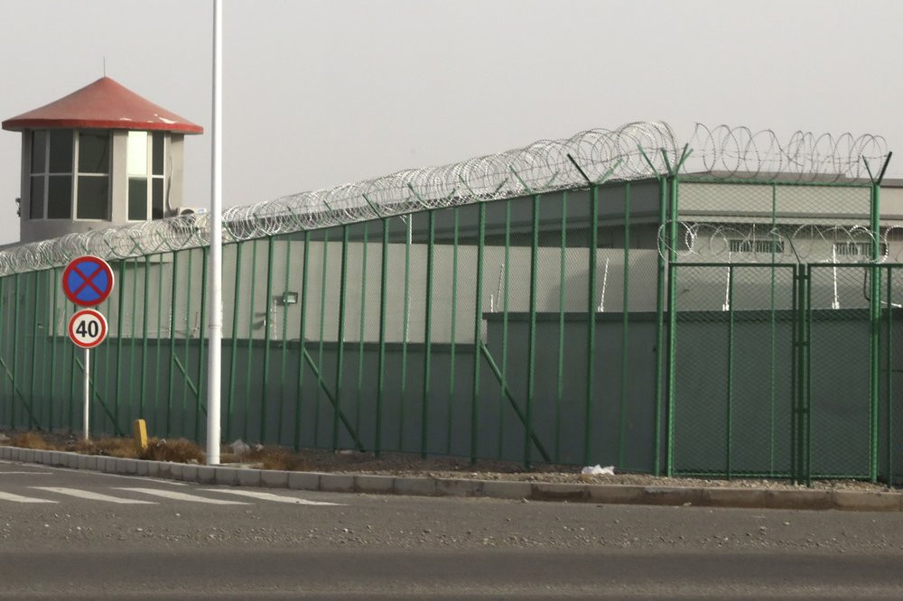 One of Xinjiang's internment camps in Artux, China.