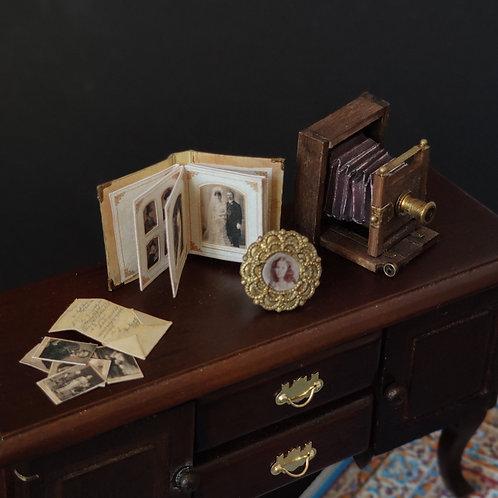 Photography Set 1/12 miniature