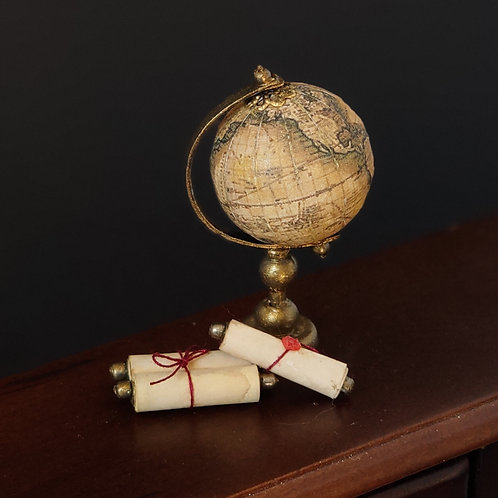 Globe Set 1/12 miniature