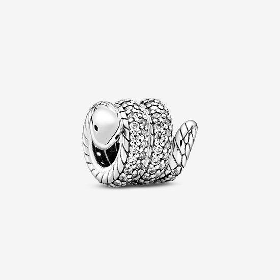 Charm Serpente scintillante