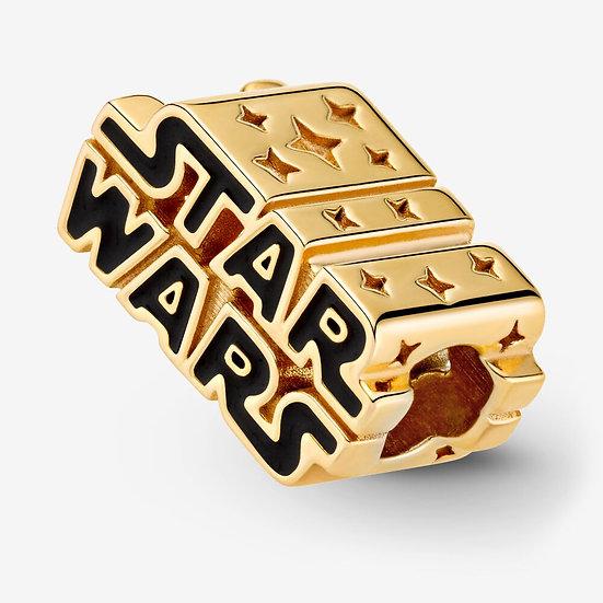 Star Wars, Charm scintillante con logo in 3D
