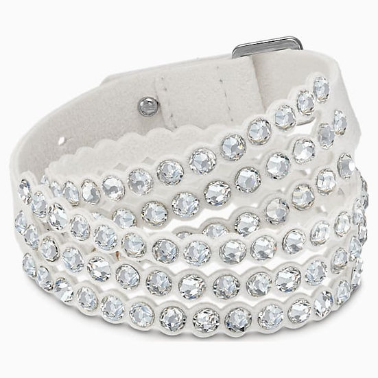 BRACCIALETTO SWAROVSKI POWER COLLECTION, BIANCO