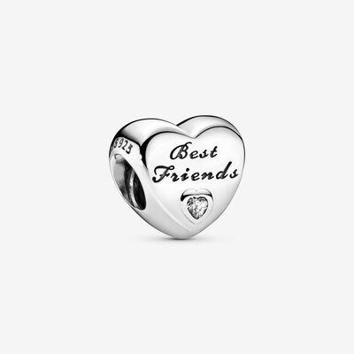 Charm a cuore Migliori amiche