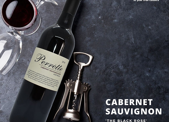 Perrette Wines - CABERNET SAUVIGNON  'The Black Rose'  BAROSSA VALLEY 20